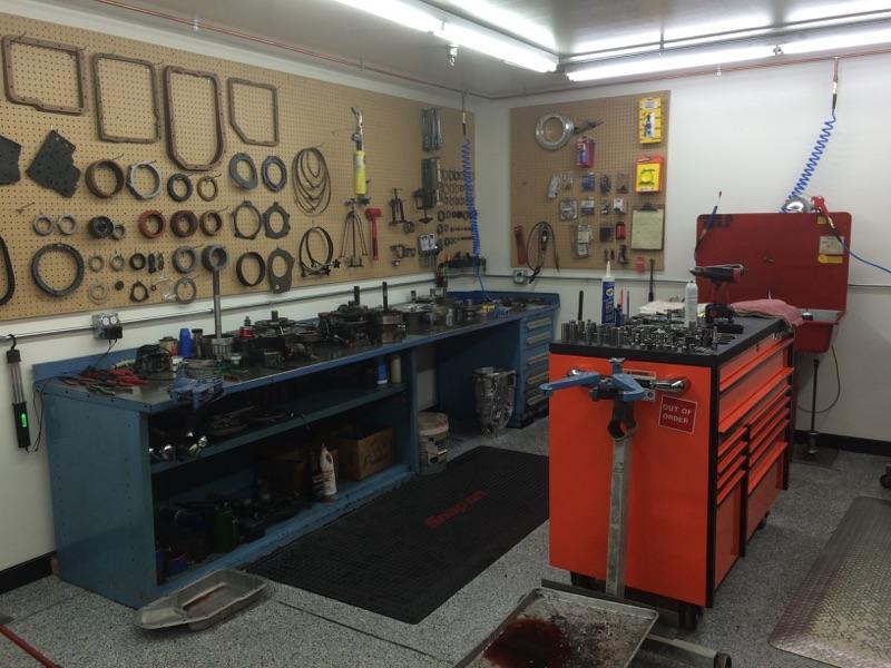 PRT Build room